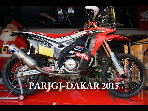 Honda Crf 450 Rally Hrc Video Best 4k Youtube