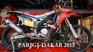 honda crf 450 rally hrc video best 4k