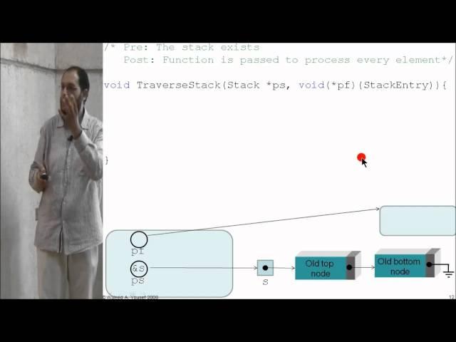 07 Stacks: Linked-based implementation II