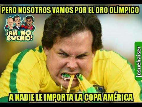 MEMES ELIMINACION DE BRASIL ANTE PERU PERDIÓ 1-0 Y CON GOL DE MANO,COPA AMERICA CENTENARIO USA 2016