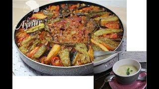 Ramazan Menüsü I Kremali Karnabahar ve Brokoli Çorbası I Firinda Kuzuetli  Sebzeli Kebab