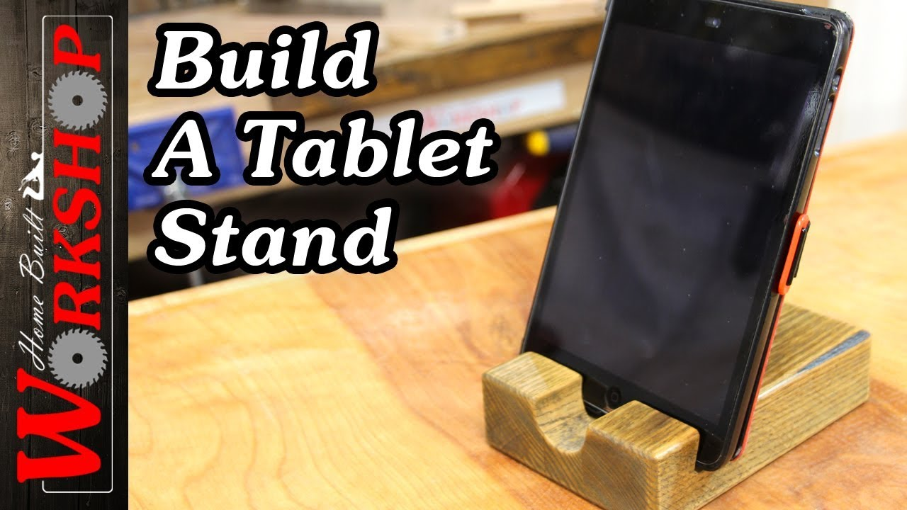 How To Make An Ipad Tablet Stand Youtube