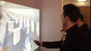보잉사 3DEXCITE를 활용한 객실 3D 디자인 체험
