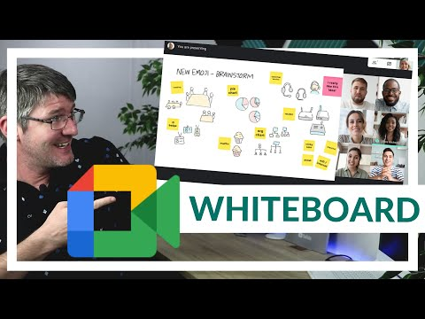 How to use the Whiteboard in Google Meet