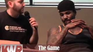the game says that jay z is the goat watch the throne is better than the red album and more