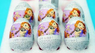 小公主蘇菲亞巧克力奇趣蛋 拆出小公主蘇菲亞