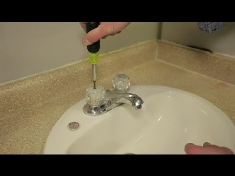 how do i replace bathroom sink faucet handles bathroom cleaning more