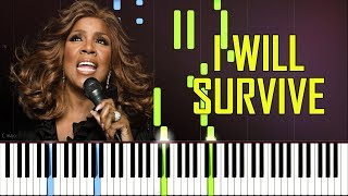 I Will Survive - Gloria Gaynor [Synthesia Piano Tutorial]