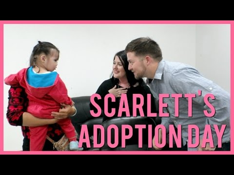 SCARLETT'S ADOPTION DAY | CHINA ADOPTION