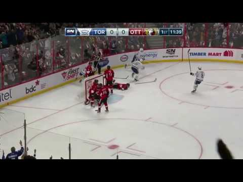 Auston Mathews All Goals vs Ottawa Senators (10/22/16)