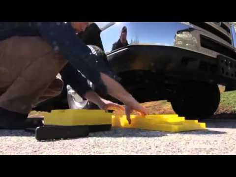 Camco Fasten Leveling Blocks With T Handle Youtube