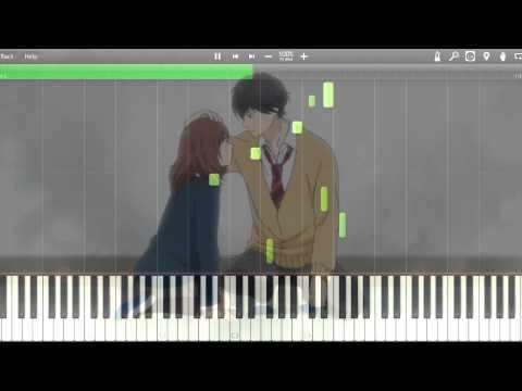 Ao Haru Ride Piano BGM | アオハライド OST - (Episode 7 BGM) こころの音