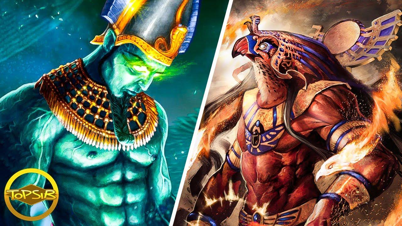 12 เทพเจ้าและเทพีแห่งโลกอียิปต์โบราณ (ว้าว)
