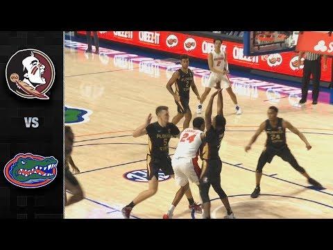 Florida State Vs. Florida Men's Basketball Highlights (2019-20)