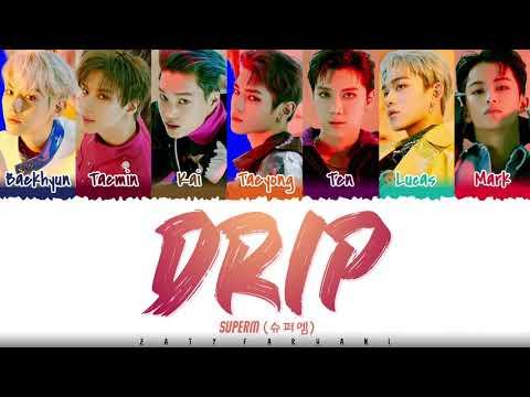 SuperM - 'DRIP' Lyrics [Color Coded_Han_Rom_Eng] indir
