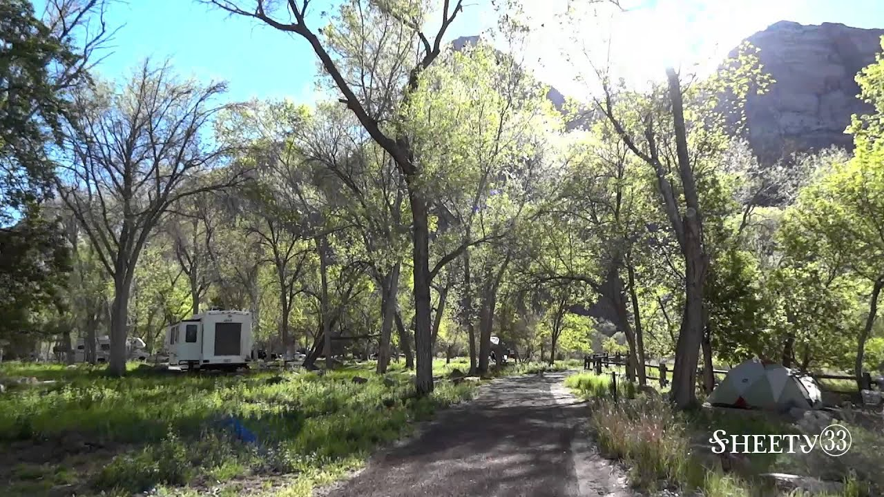 South Campground Zion National Park Youtube