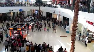 AB DANCE AND FITNESS STUDIO by andrea bejarano  flashmobe ciudad juarez oct 2012