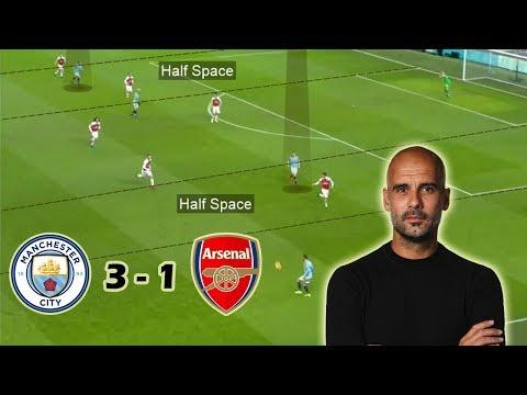 Guardiola Shows his Tactical Flexibility | Man City vs Arsenal 3-1 | Tactical Analysis