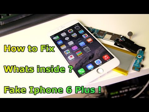 Fake Iphone 6 Plus - How to Fix / Unbrick Sophone i6 - Whats inside of it ? [HD]