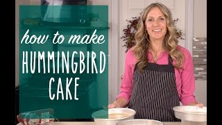 How to Make Hummingbird Cake {Recipe Video}