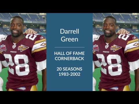Darrell Green Hall of Fame Football Cornerback