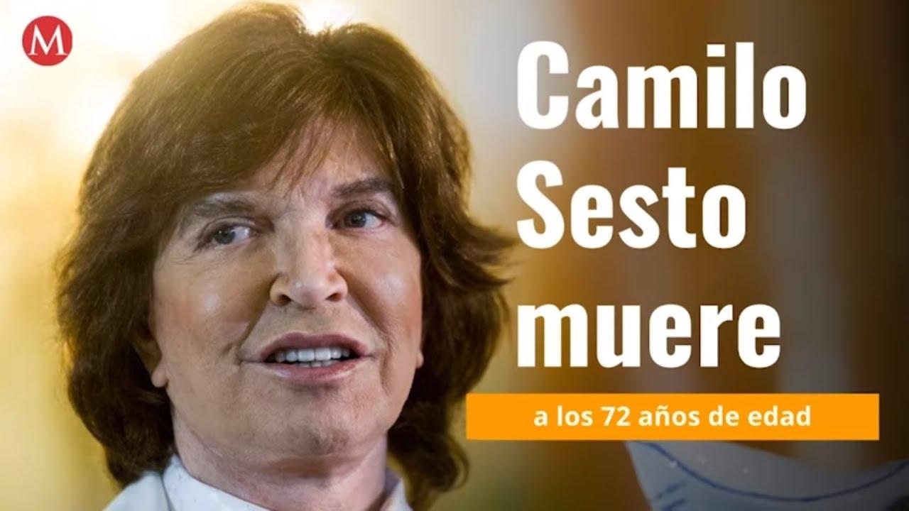 Muere el cantante espaol Camilo Sesto a los 72 aos