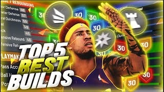The Top 5 Best Builds in NBA 2K20! Most Overpowered Builds in NBA 2K20! PART 2 *After Patch 10*
