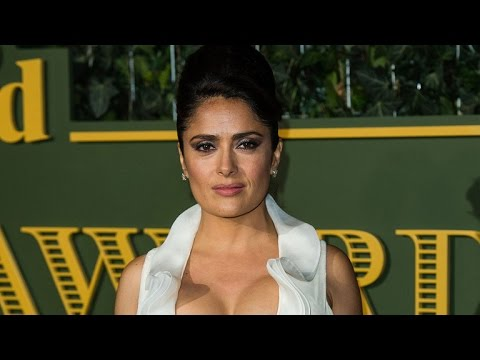 Salma Hayek Accidentally Rocks a Sexy Cleavage Shirt to the Emergency Room -- See the Hilarious P… thumbnail