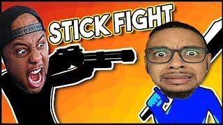 STICK FIGHT: THE GAME - JonesGotGame VS GamingWithKev