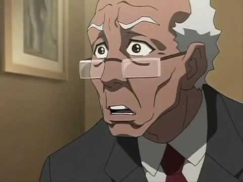 Boondocks Huey's best moments season 2 [HD]
