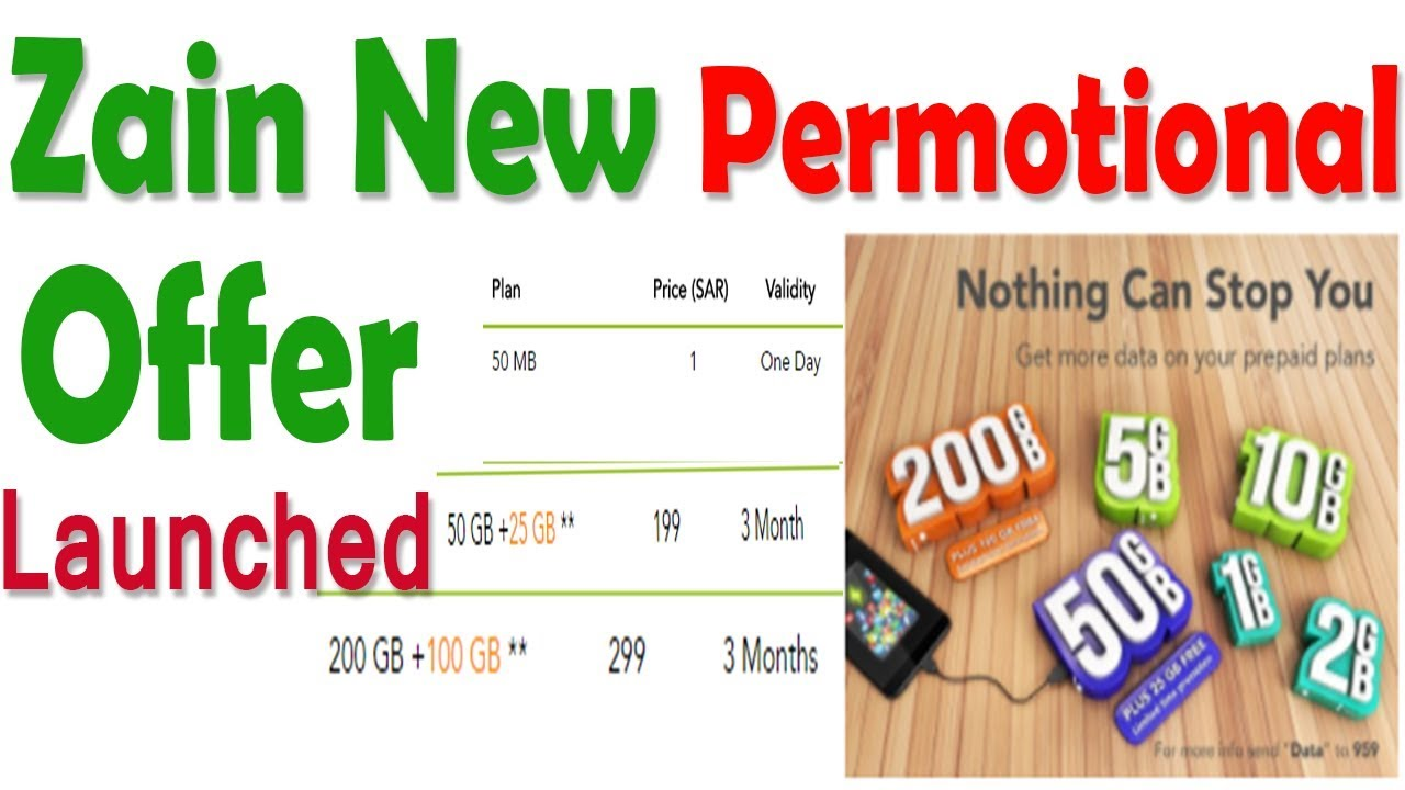 Zain Mobile Internet Package In Saudi Arabia Zain Offers