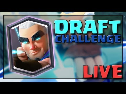 Magic Archer Draft Challenge Live! | Clash Royale Live Strea