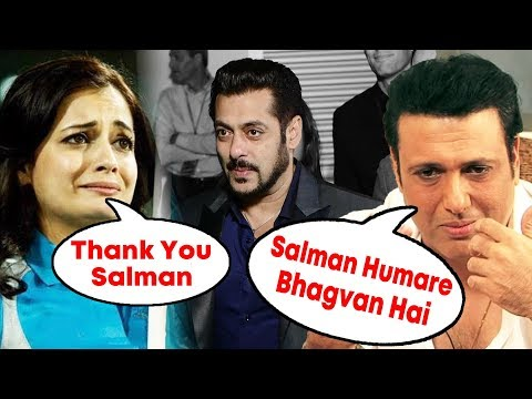 Govinda And Dia Mirza Talks On How Salman Khan's HELPED Them In Need