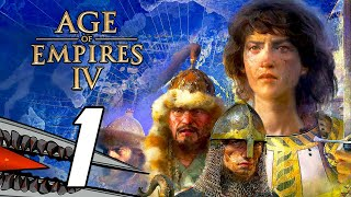 Age of Empires 4 - Gameplay Walkthrough Part 1 (PC 60FPS)