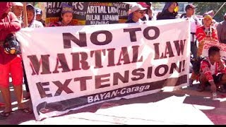 Groups stage protest outside Congress vs martial law extension