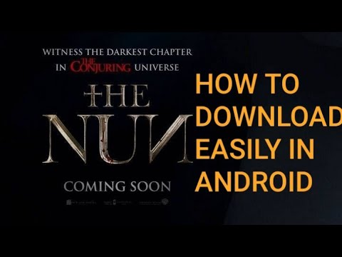 How to download and watch THE NUN 2018...