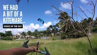 Kiteboarding: We Had A Bit Of A KITEMARE! #VlogLife 9