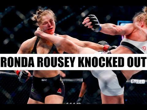 Ronda Rousey over confident knocked out vs Holly Holm