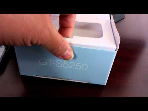 Samsung S5250 Wave 525 Unboxing Video - Phone in Stock at www.welectronics.com