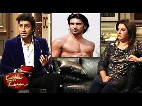 Abhishek Bachchan INSULTS Ranveer Singh Koffee With Karan 16TH February 2014 episode