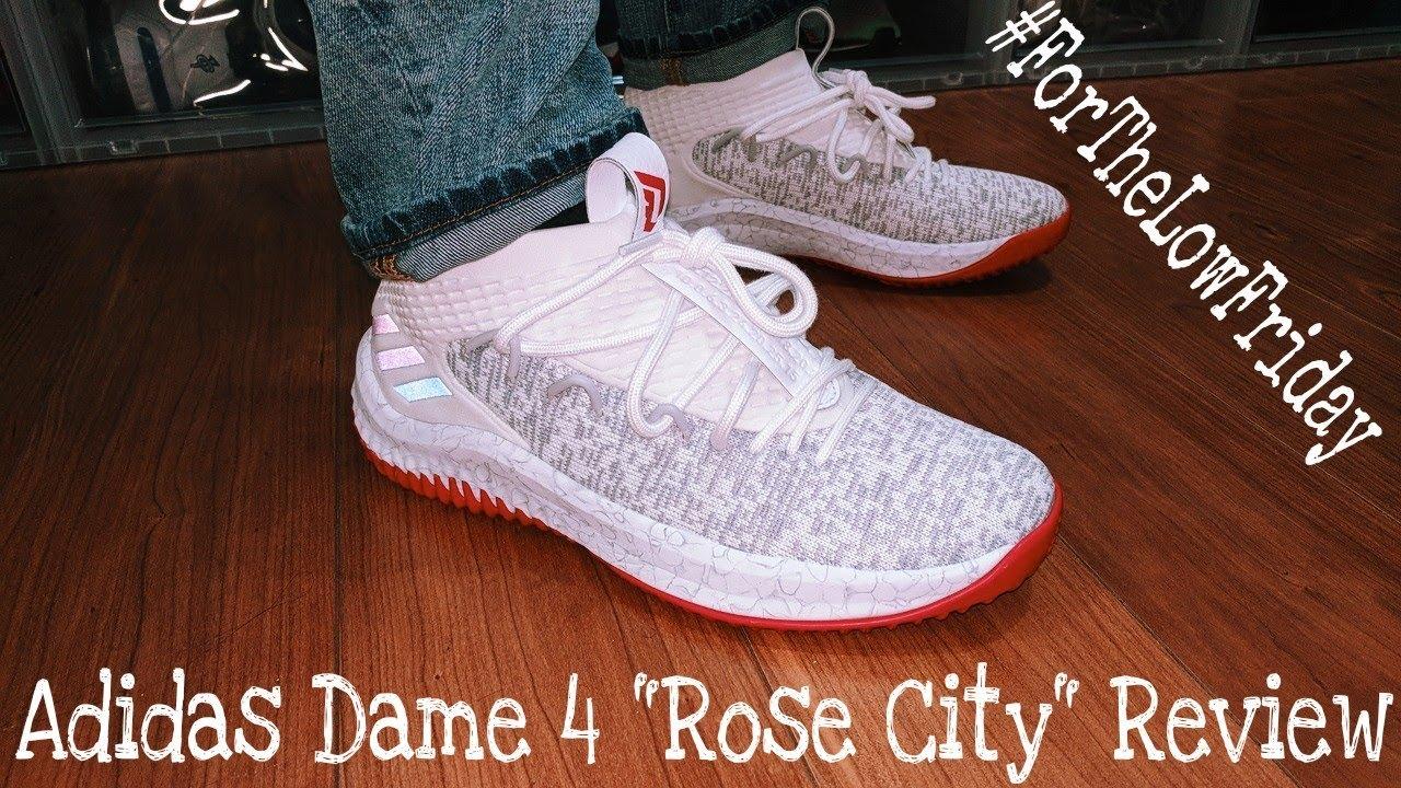 adidas dame 4 rose city