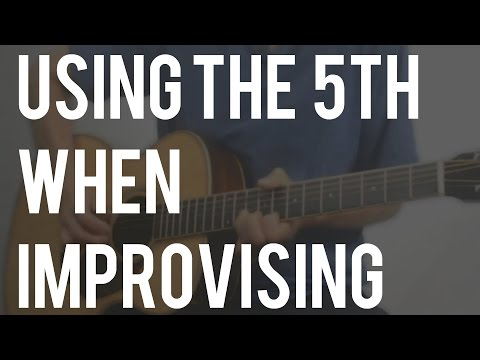 Using the 5th Scale Degree in Your Blues Licks
