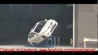 Changan Eado 2014 Rollover Crash Test