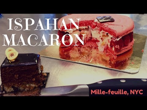 Ispahan @ Mille-feuille Bakery NYC - GLUTEN FREE FOOD FILES: EP2 -