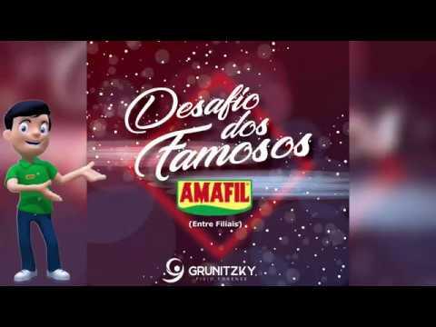 DESAFIO DOS FAMOSOS AMAFIL - DERIMAN  UNIDADE DE PARANAVAÍ/PR