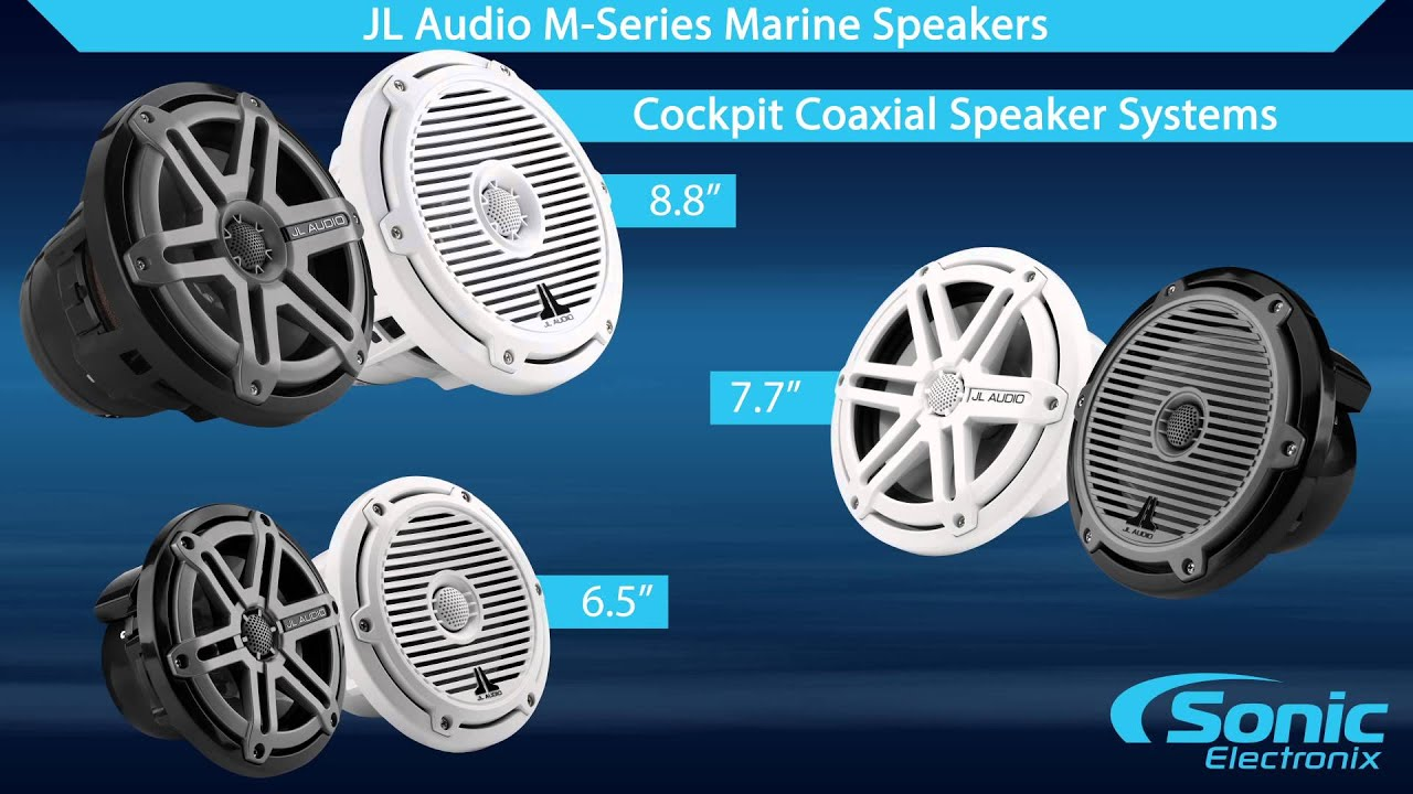 JL Audio M-Series Marine Speakers | Product Overview - YouTube