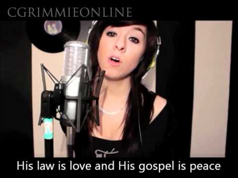 O Holy Night - Christina Grimmie - Lyrics - MP3 download link