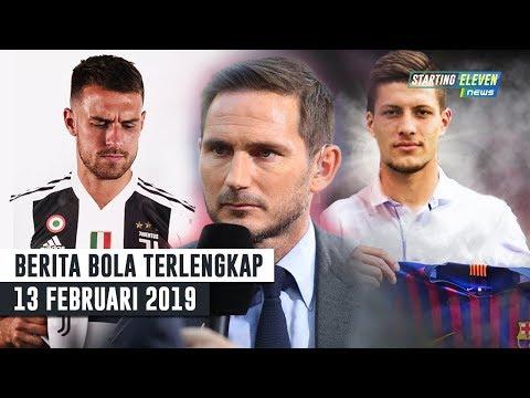 Ramsey RESMI Ke Juventus 👍 Penyerang Baru Barca 😍 Lampard Tolak Chelsea (Berita Bola Terlengkap)