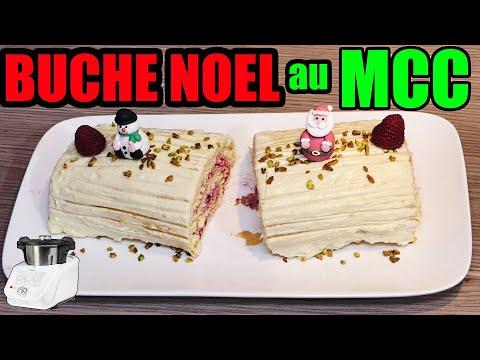 bûche-de-noël-monsieur-cuisine-connect-framboises-et-chocolat-blanc-thermomix-intermarché