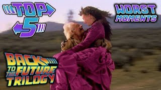 Top 5 Worst Back to the Future Trilogy Moments